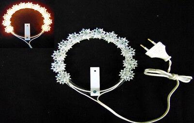 Votive coronet Luminous Stellario Aureole Several Measures the Alta Qualita and Duration