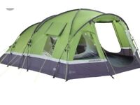 Immaculate 6 man tent with camping stove