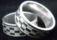 Handsome Man's stainless steel ring Size 10--NEW!!