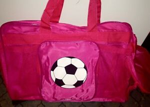 *brand new* pink soccer bags (2 available) Kitchener / Waterloo Kitchener Area image 1