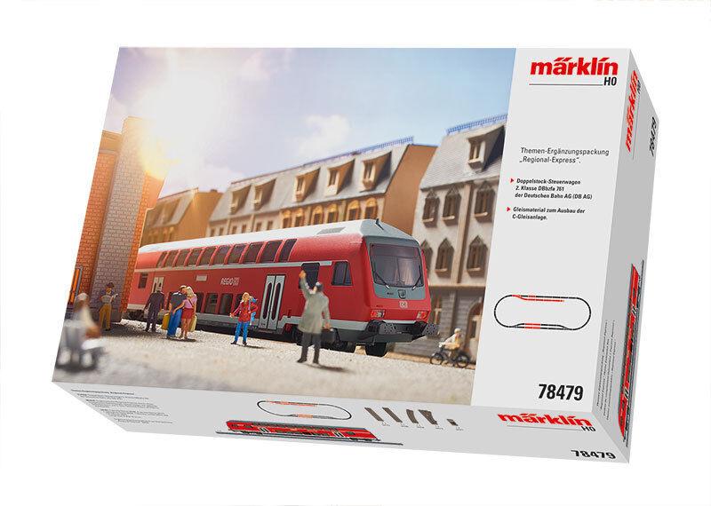 Aus Märklin 78479 Ein Doppelstocksteuerwagenwagen Db Ag 2.klasse #Neu# 9
