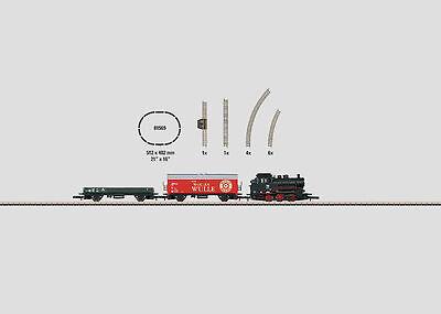 Märklin 81569 Startpackung 230 Volt Güterzug mit Gleisoval Spur Z