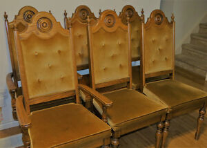 Solid Oak Dining Chairs London Ontario image 1