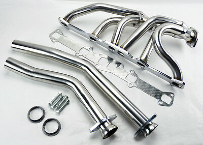 Ford Mercury L6 144/170/200/250 CID Stainless Steel Performance Headers Exhaust