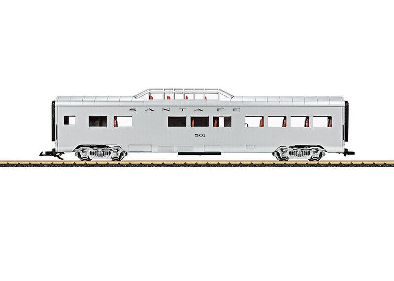LGB 36567 G Santa Fe Vista Dome Car