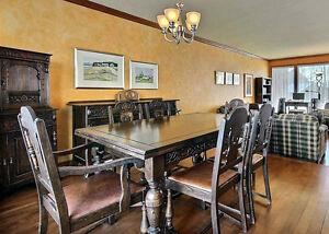 Tables style antique salle manger cuisine dans ville for Table salle a manger quebec