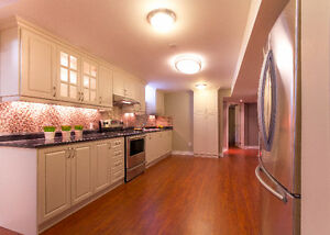 Executive Suite - Two Bedroom Basement Apartment for Rent