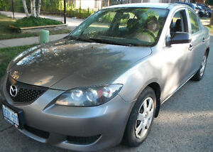 2005 Mazda Mazda3 GS Sedan Kitchener / Waterloo Kitchener Area image 1