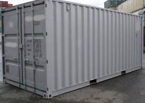 20ft one trip shipping containers