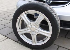Factory Aluminum Rims 17 inch Acura