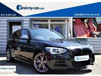 2013 13 BMW M135i 3.0 320 BHP Sports Hatch Black with Red