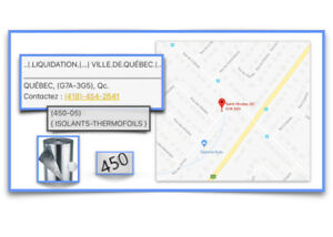 (450-04) { ISOLANTS-THERMOFOILS } AUBAINE !! -  90.00$ /ch.