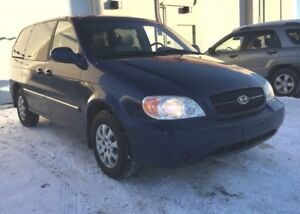 2004 Kia Sedona 6 Months powertrain warranty included.