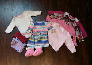 6-12 months baby girls clothes
