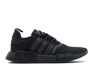 ADIDAS NMD TRIPLE BLACK VERY RARE 5,5 MEN with bill and box