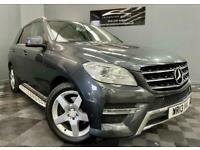 2013 Mercedes-Benz M-CLASS 2.1 ML250 BLUETEC AMG SPORT 5d 204 BHP Estate Diesel
