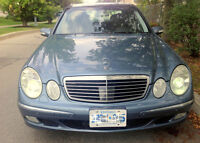 2004 Mercedes E500 4Matic, Distronic, panoramic, cooling seats