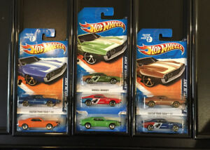LB025 Hot Wheels Only AMC Javelin AMX 7 Car Collection Lot NIP