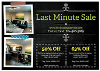 STAGING SERVICES - CALL TODAY!