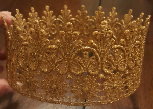 Children's Gold Lace Crown