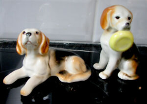 Collection Miniature Chien Beagle Dog Giftcraft Bone China
