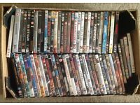 Large collection of over 300 DVDs