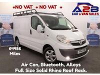 2014 14 VAUXHALL VIVARO 2.0 2700 CDTI SPORTIVE 115 BHP NO VAT TO PAY, 64436 MI