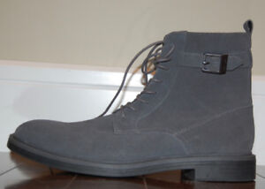 Calvin Klein Men's Justin Suede Casual Ankle Boots Size US 11