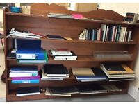 Fabulous Double sided Bookcase