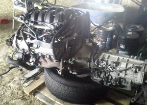 upgrade 2007 4.6l motor and transmission 50000km Mustang