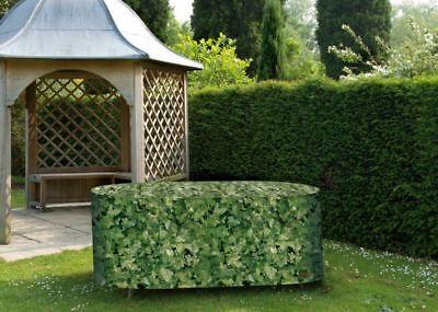 Willow Garden Furniture - Willow Weave Camouflage Medium Oval Patio Set Garden Furniture Cover