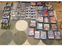 SNES, Megadrive & N64 Rare Retro Game lot (57 games)