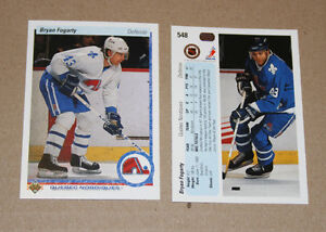 Upper Deck 1990-91 hockey cards Strathcona County Edmonton Area image 1