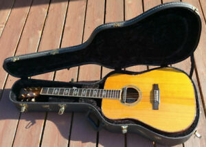 1994 Larrivee D-10 Custom Dreadnought Acoustic Guitar