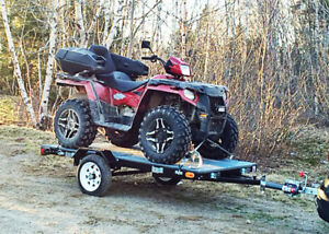 Heavy Duty ATV 4 X 8 Utility Trailer W/50% off Spare Wheel   NL