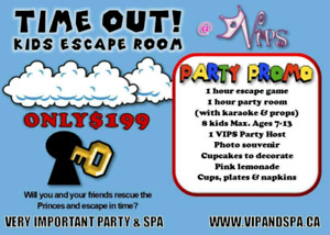 Kids Escape room party