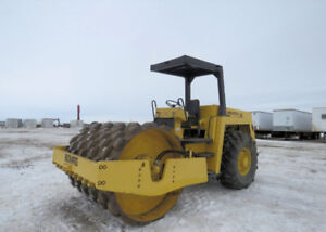 """Bomag BW213PD 154 HP 84"""" Drum Padfoot Vibratory 61,825 lb Force"""