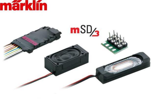 """Märklin H0 60986 SoundDecoder mSD3 """"Diesellok-Sound + Neuheit 2015"""" - NEU + OVP"""