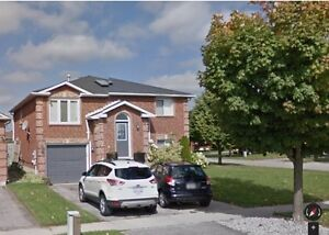 Gorgeous 3 Br + 1 Br ground level Apt In North End of  Barrie