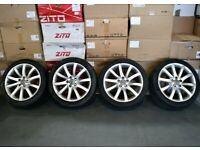 "18"" Original Genuine Audi A4 Alloy Wheels & Tyres"