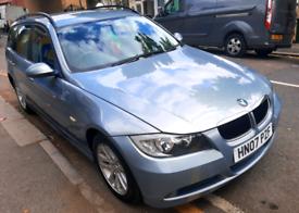 BMW, 3 Series, 2007, 07 reg, 2LT, Automatic, Petrol, Mot, Tax.