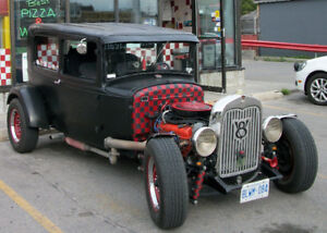 1930 Ford Model A  2 dr Sedan Hot Rod/ Rat Rod $17000