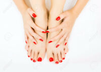 Beauty salon: hair removal, skin rejuvenation, waxing, manicure