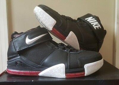 6739572ad062c Nike Air Zoom Lebron II (Black Red)