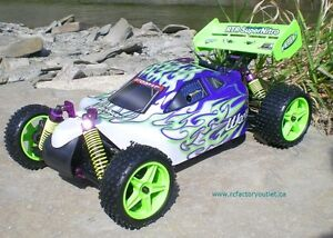 New RC Buggy / Car Nitro Gas Engine 4WD 2.4G !/10 Scale Warhead Belleville Belleville Area image 3