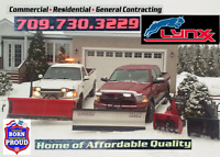 Snow Plowing 24/7 Our first concern is your satisfaction!!