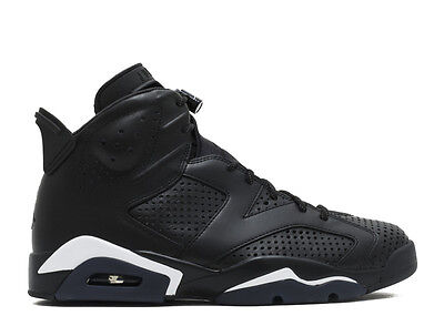 2016 Nike Air Jordan Retro VI 6 Black Cat 384664 020 Mens