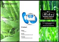 Mike's Seasonal Services - Lawn Care, Aeration, Dethatch & More!