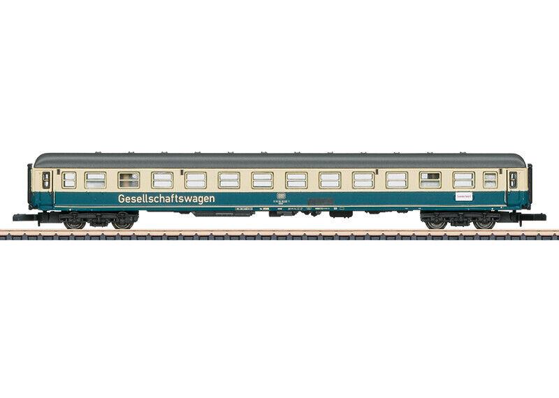 Marklin 87210 Z German Federal Railroad WGmh 824 Entertainment Car NIB
