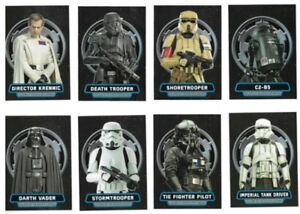 2016 Topps Star Wars Rogue1 Series1 Villains Of The Empire Set 8
